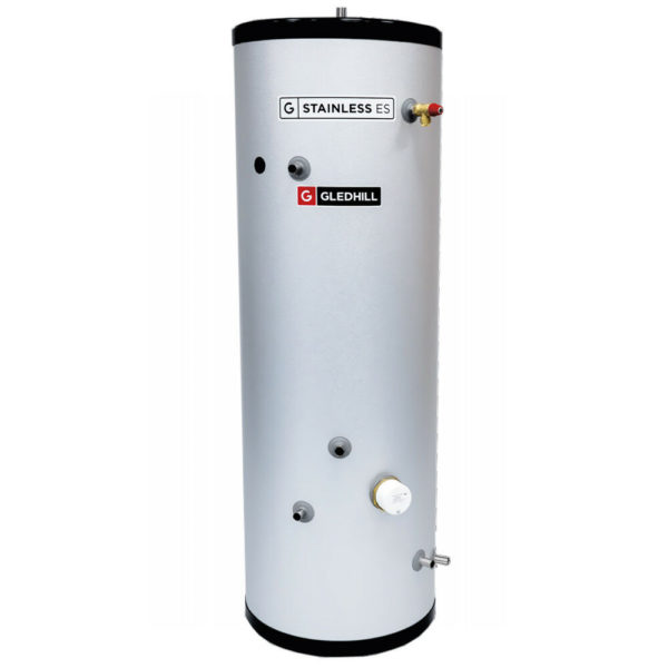 Gledhill ES 120L InDirect Unvented Cylinder Stainless Steel