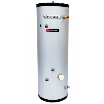 Gledhill ES 300L InDirect Unvented Cylinder Stainless Steel