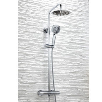 Scudo Middleton Round Bar Shower Kit