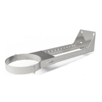 TWPro 125mm Twin Wall Support 210 to 420mm Stainless Steel