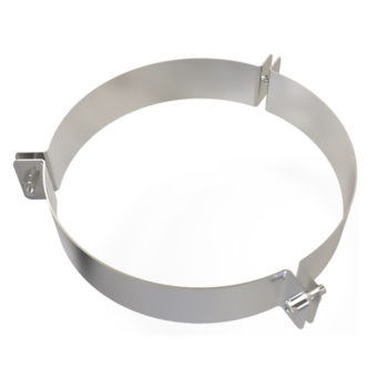 TWPro 125mm Twin Wall Guy Wire Bracket Stainless Steel