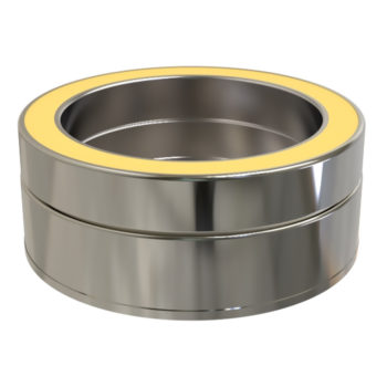TWPro 150mm Twin Wall Insulated Tee Cap Stainless Steel