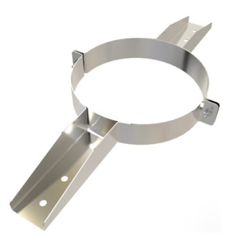 TWPro 150mm Twin Wall Joist Support Stainless Steel