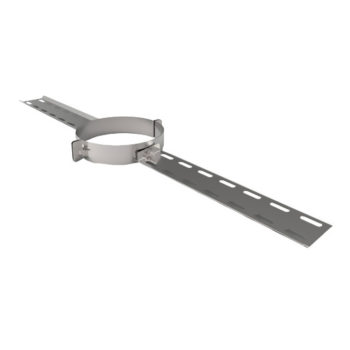 TWPro 150mm Twin Wall Long Roof Support Stainless Steel