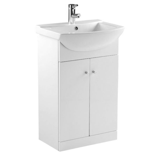 Elation Ikoma 550 Vanity Unit Gloss White