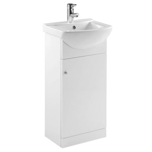 The Elation Ikoma 450 Vanity Unit manufactured in the UK for that perfect finish. Fast delivery. 5 Year manufacture warranty, 18mm carcasses and Doors.