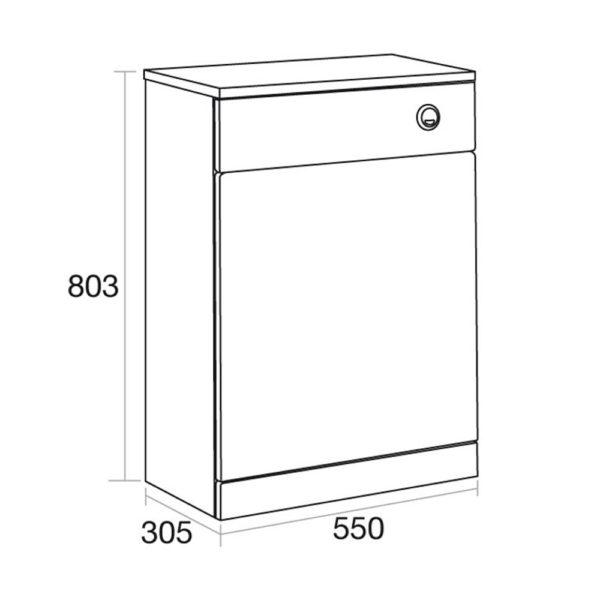 Elation Ikoma 550 WC Unit Gloss White