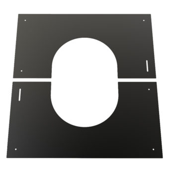 TWPro 150mm Finishing Plate Black 0-30 Degree