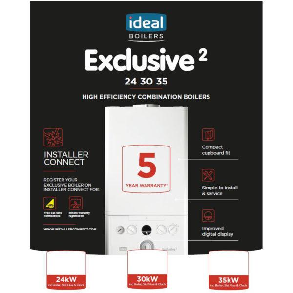 Ideal Exclusive Combi 24KW (SHOP)