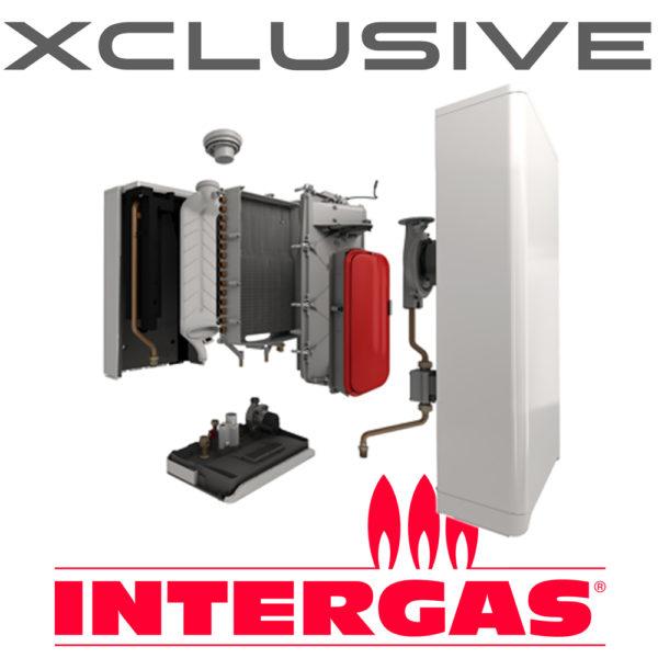 Intergas Xclusive 30KW Combi Boiler