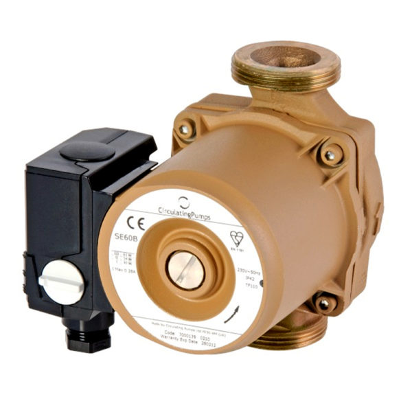 Bronze Hot Water Circulation Pump