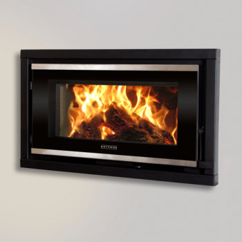Portway Panoramic Glass Inset Stove