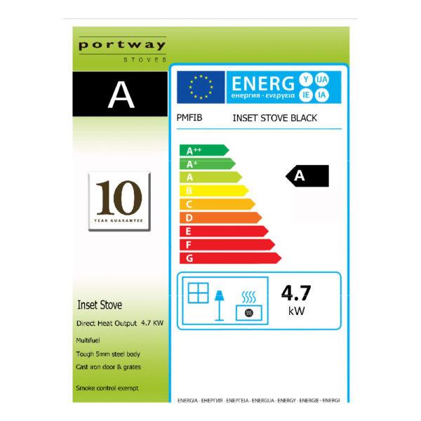 Portway Contemporary Inset Multifuel