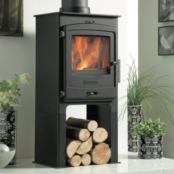 Portway 1 Contemporary Multifuel Stove High Leg