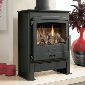 Portway 2 Gas Stove with Logs