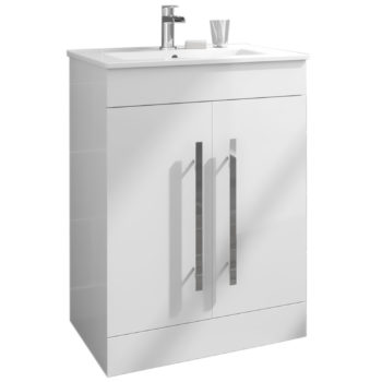 Premier Idon 2 Door 600mm Floor Standing Vanity Unit