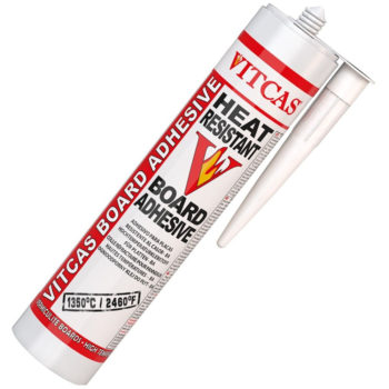 Vitcas Heat Resistant Board Adhesive Cartridge 310ml