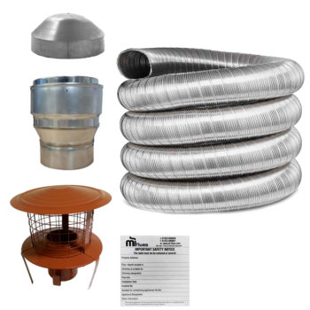 Kit 2 Flue Liner Kit 316 125mm
