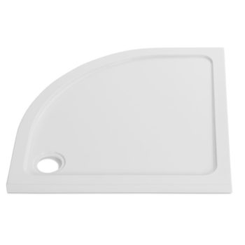 900 x 760 Offset Quadrant Shower Tray 40mm Left Hand