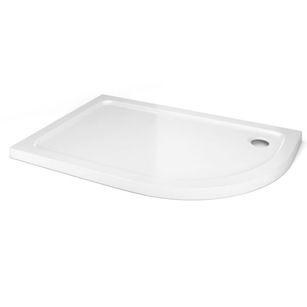 1200 x 900 Offset Quadrant Right Hand Shower Tray