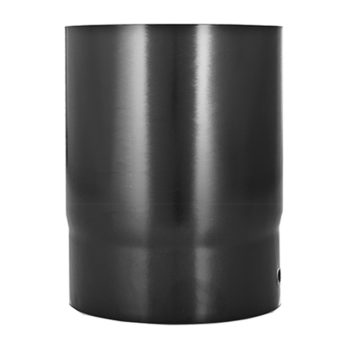 100mm Flue Pipe Vitreous Enamel 250mm Long