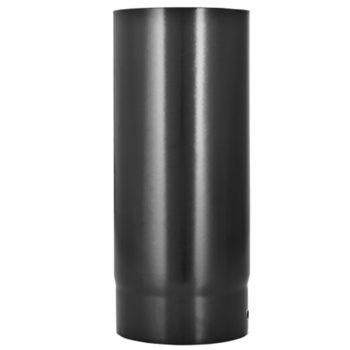 100mm Flue Pipe Vitreous Enamel 500mm Long