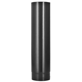 125mm Flue Pipe Vitreous Enamel 1000mm Long