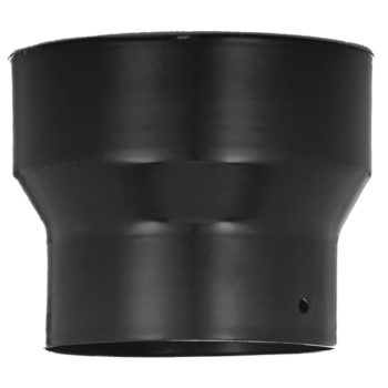 Black Stove Pipe Increaser 5 Inch To 6 Inch