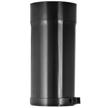 125mm Flue Pipe Vitreous Enamel Adjustable 330mm to 200mm