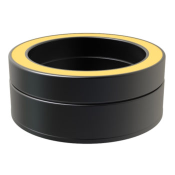 TWPro 150mm Twin Wall Insulated Tee Cap Black