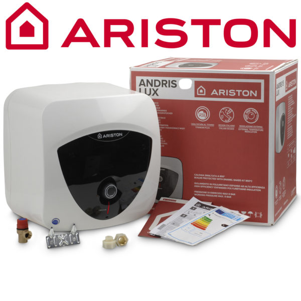 Ariston Andris Lux Undersink Electric Unvented Water Heater - 3kW 15 Litre