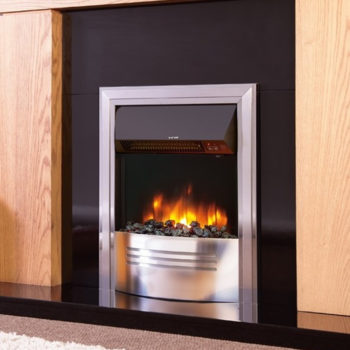 Celsi Accent Infusion Silver Ribbon Flame Effect Electric Fire