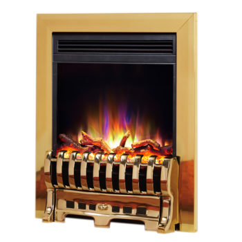 "Celsi Electriflame XD 16"" Insert Royale Brass Electric Fire"