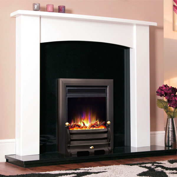 "Celsi Electriflame XD Daisy Black 16"" Inset Electric Fire"