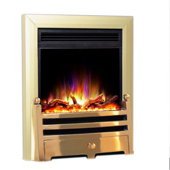 Celsi Electriflame XD Insert Bauhaus Brass Electric Fire