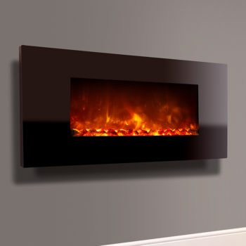 Celsi Electriflame XD Piano Black 1100 or 1300mm Electric Fire