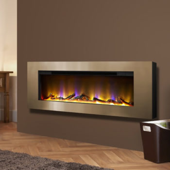 Celsi Electriflame VR Basilica Champagne Electric Fire
