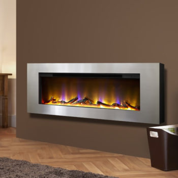 Celsi Electriflame VR Basilica Silver Electric Fire