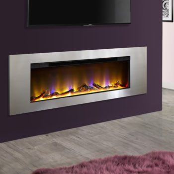 Celsi Electriflame VR Metz Silver Inset Electric Fire