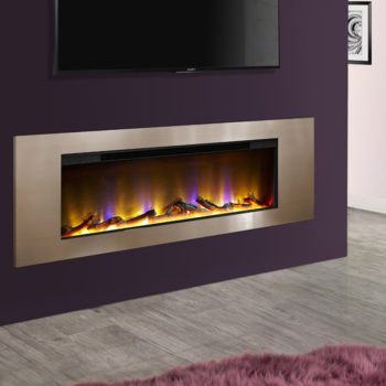 Celsi Electriflame VR Metz Champagne Inset Electric Fire