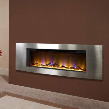 Celsi Electriflame VR Vichy Silver Inset Electric Fire