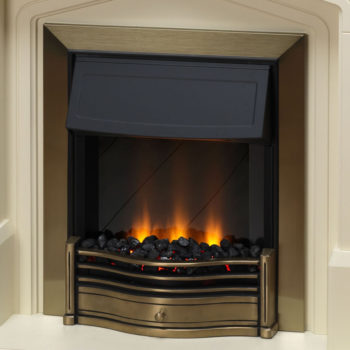 Dimplex Danesbury Electric Fires Antique Brass 2KW