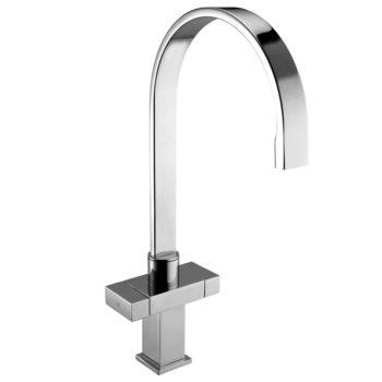 Deva Brixton Mono Kitchen Sink Tap Chrome