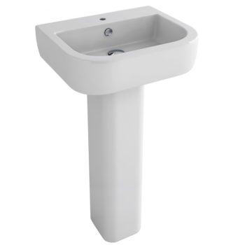 Pura Essence 56cm Basin Only 1 Tap Hole