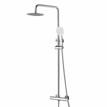 Niagara Equate Round Thermostatic Shower Set