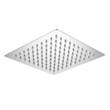 Niagara Observa Square Slimline Shower Head 8inch 200mm
