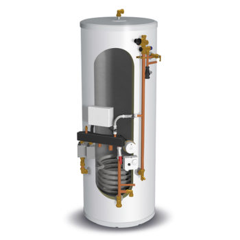 Gledhill Stainless lite Pre-Plumbed IND120 Indirect Unvented Cylinder System Ready