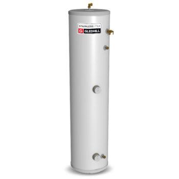 Gledhill Stainless lite Plus Slimline D120-SL Direct Unvented Cylinder