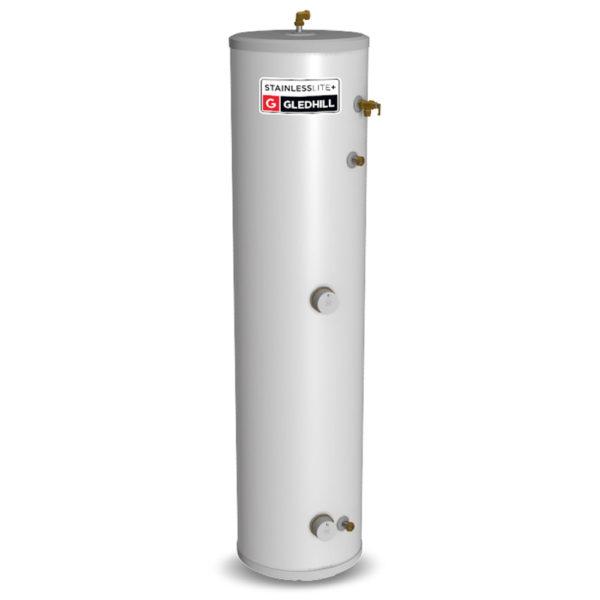 Gledhill Stainless lite Plus Slimline D150-SL Direct Unvented Cylinder
