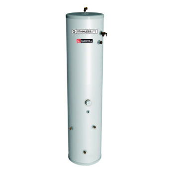 Gledhill Stainless lite Plus Slimline IND120-SL Indirect Unvented Cylinder